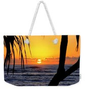 Sunrise Fuji Beach Kauai Weekender Tote Bag
