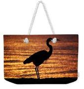 Sunrise Heron Weekender Tote Bag