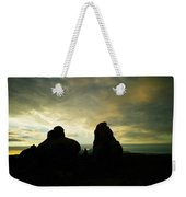Sunrise In Arches National Park Weekender Tote Bag