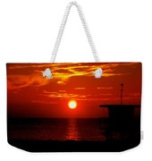 Sunrise In Miami Beach Weekender Tote Bag