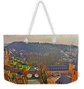 Sunrise In Old Town Weekender Tote Bag