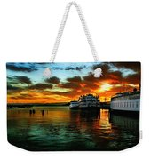 Sunrise In San Francisco Weekender Tote Bag