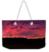 Sunrise In The Foothills Weekender Tote Bag