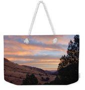 Sunrise - Indian Lodge Weekender Tote Bag by Allen Sheffield