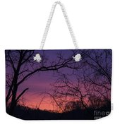 Sunrise January 21 2012 Weekender Tote Bag