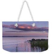 Sunrise Lake Champlain Shore Vermont Clouds Weekender Tote Bag
