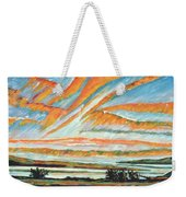 Sunrise Les Eboulements Quebec Weekender Tote Bag
