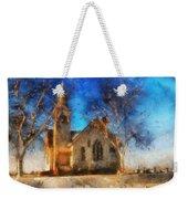 Sunrise On A Rural Church 12 Weekender Tote Bag