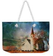 Sunrise On A Rural Church 18 Weekender Tote Bag