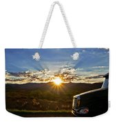 Sunrise On A Traffic Jam Weekender Tote Bag