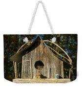 Sunrise On Birdhouse Homestead Weekender Tote Bag
