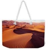 2a6856-sunrise On Death Valley Weekender Tote Bag