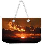 Sunrise On Fire Weekender Tote Bag
