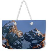 1m9333-h-sunrise On Grand Teton Weekender Tote Bag