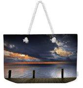Sunrise On Key Islamorada In The Florida Keys Weekender Tote Bag