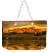 Sunrise On Little Redfish Lake Weekender Tote Bag