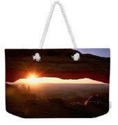 Sunrise On Mesa Arch Weekender Tote Bag