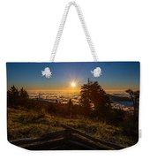 Sunrise On Mount Mitchell Weekender Tote Bag