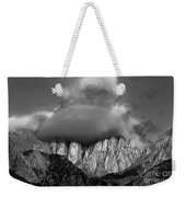 Sunrise On Mount Whitney Eastern Sierras California Weekender Tote Bag