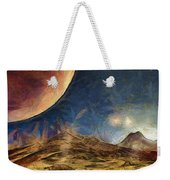 Sunrise On Space Weekender Tote Bag