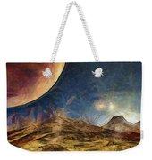 Sunrise On Space Weekender Tote Bag