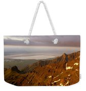 Da5901-sunrise On Steens Mountain Weekender Tote Bag