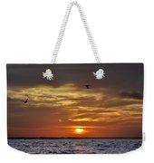 Sunrise On Tampa Bay Weekender Tote Bag