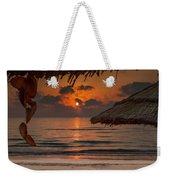 Sunrise On The Beach Weekender Tote Bag