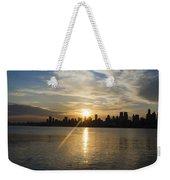 Sunrise On The Big Apple Weekender Tote Bag