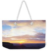 Sunrise On The Colorado Plateau Weekender Tote Bag