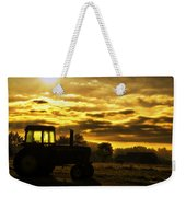 Sunrise On The Deere Weekender Tote Bag