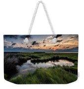 Sunrise On The Marsh Weekender Tote Bag