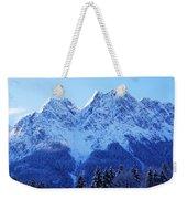 Sunrise On The Alps Weekender Tote Bag