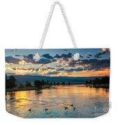 Sunrise On The North Payette River Weekender Tote Bag