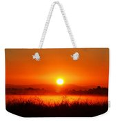 Sunrise On The Rice Fields Weekender Tote Bag