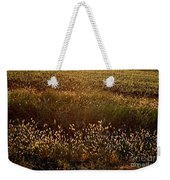 Sunrise On Wild Grass Weekender Tote Bag
