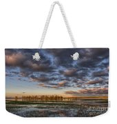Sunrise On Yellowstone Lake Weekender Tote Bag
