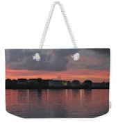 Sunrise Over Cape Fear River Weekender Tote Bag