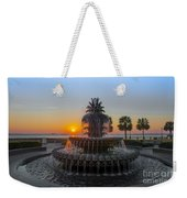 Sunrise Over Charleston Weekender Tote Bag