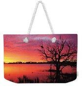 Sunrise Over Coongee Lakes Weekender Tote Bag