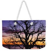 Sunrise Over Coongee Lakes With Moon.  Weekender Tote Bag
