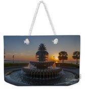 Sunrise Over Downtown Charleston  Weekender Tote Bag