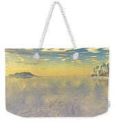 Sunrise Over Glacial Bay Weekender Tote Bag