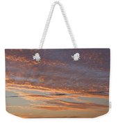 Sunrise Over Lake Manistee Weekender Tote Bag