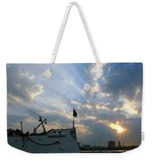 Sunrise Over Philadelphia  Weekender Tote Bag
