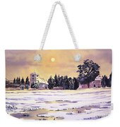 Sunrise Over St Botolph's Church Weekender Tote Bag by Bill Holkham