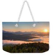 Sunrise Over The Adirondack High Peaks Weekender Tote Bag