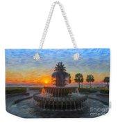 Sunrise Over The Pineapple Weekender Tote Bag