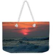 Sunrise Over Waves Weekender Tote Bag