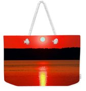 Sunrise Over Whidbey Island Weekender Tote Bag